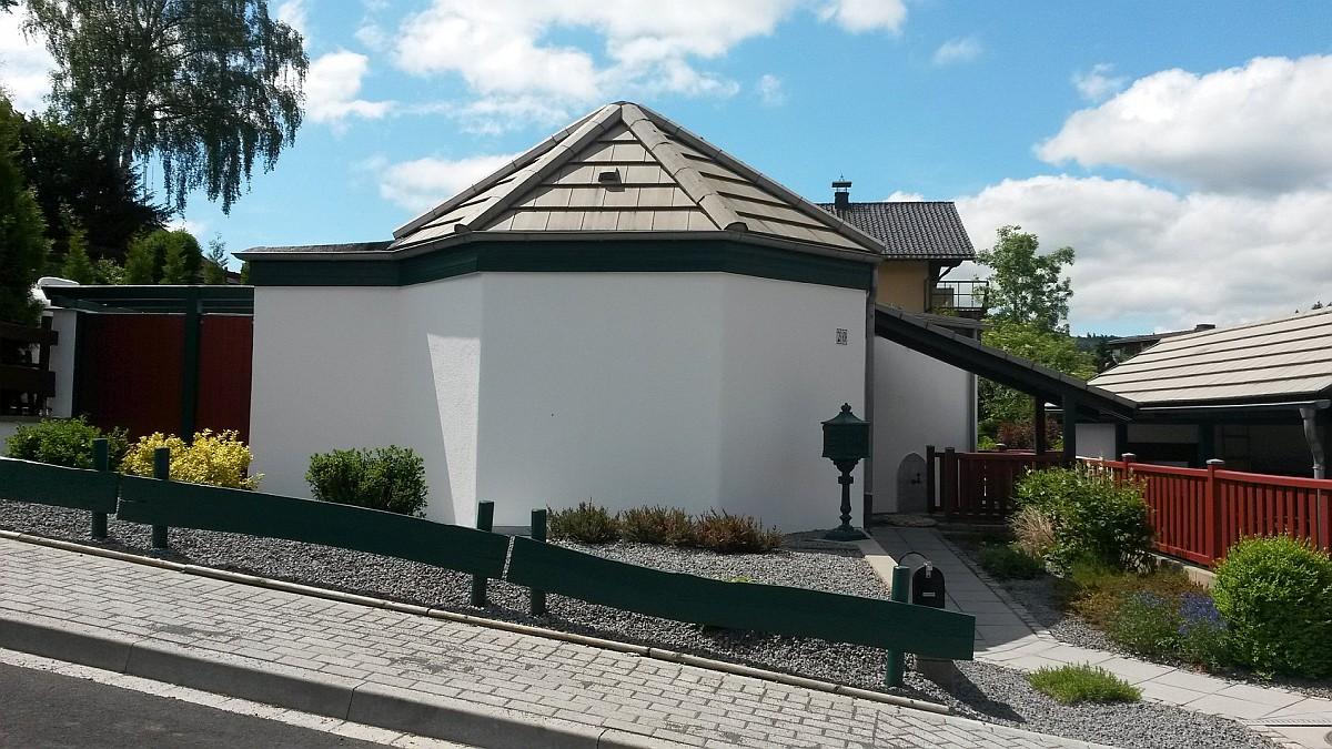 Gewaltig Außergewöhnliche Ferienhäuser Galerie Von Die Außergewöhnliche Bauweise In Form Eines Acht-ecks